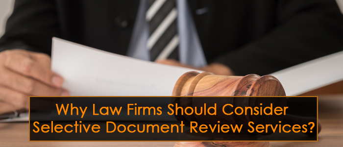 Why Law Firms Should Consider Document Review Services - Legal document services