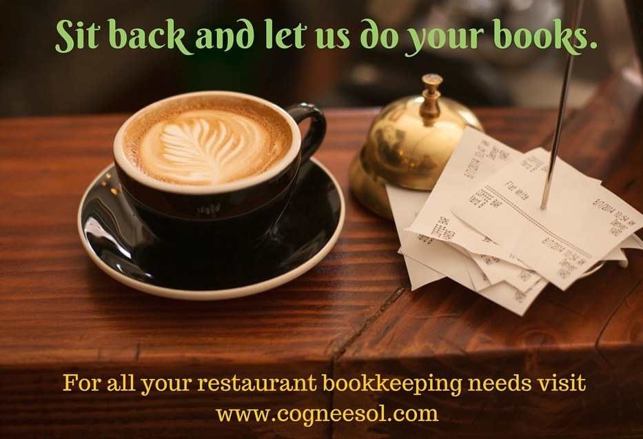 Restaurant Bookkeeping Services - Cogneesol