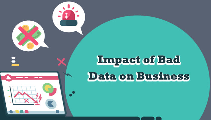 Impact of Bad Data on Business Performance - Infographic