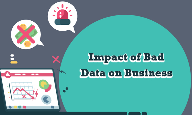 impact of bad data on business performance